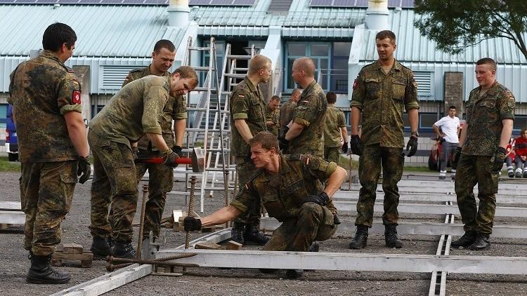 الجيش الألماني يوقف مساعداته للاجئين في 2016