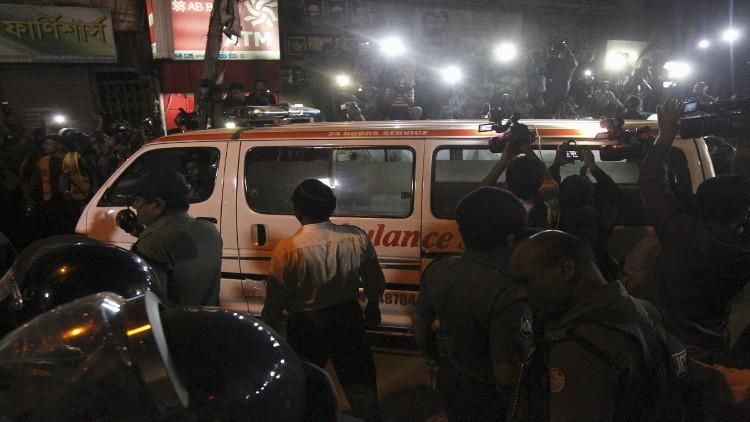مصرع 14 شخصا بانفجار اسطوانة غاز في باكستان