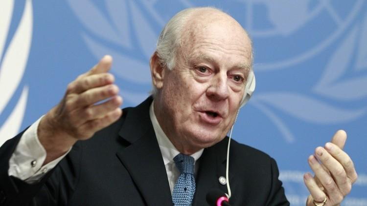 هل ينجح دي ميستورا في رأب الصدع بين طرفي الأزمة السورية؟