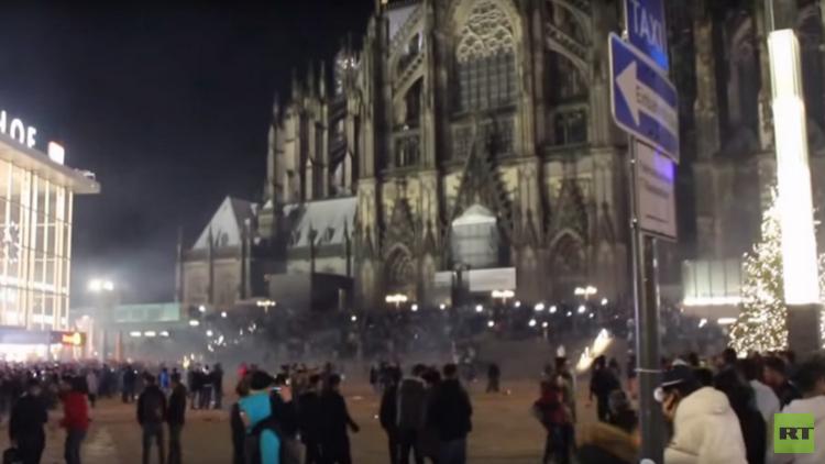 حوادث تحرش جماعي في ألمانيا باحتفالات رأس السنة (فيديو)
