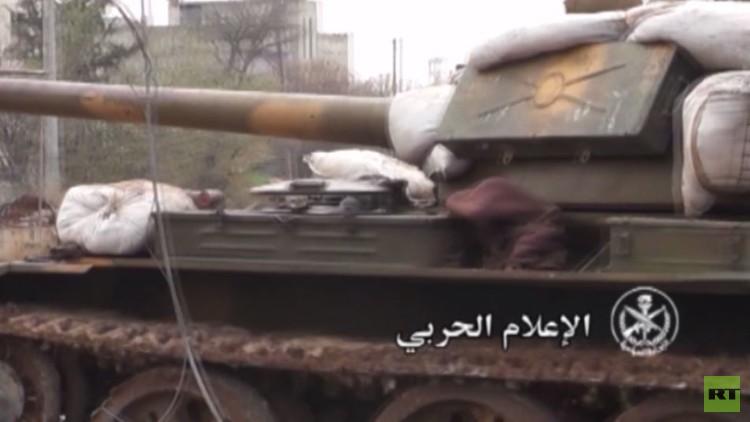 بالفيديو من سوريا.. معارك بين قوات الجيش السوري والمسلحين في درعا