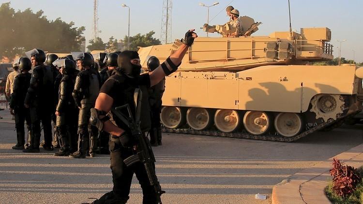 الجيش المصري يعلن مقتل 11 مسلحا في سيناء