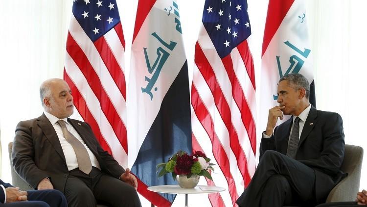 أوباما والعبادي يتفقان على ضرورة ضبط النفس في الشرق الأوسط