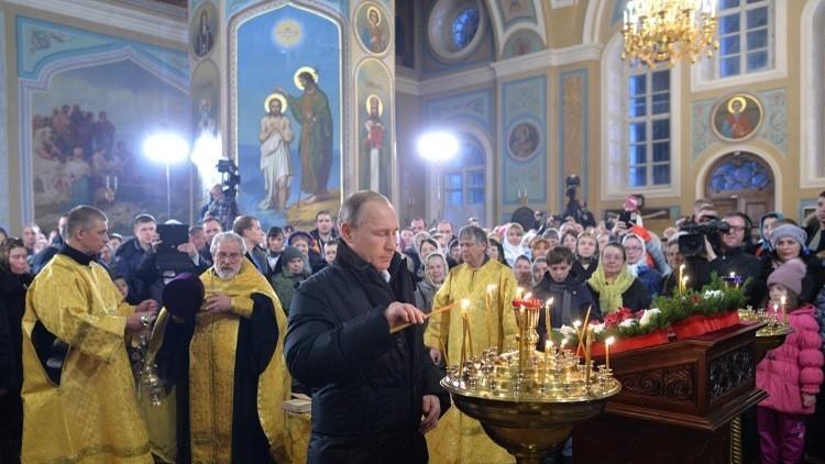 الرئيس بوتين يهنئ المسيحيين الأرثوذكس بعيد ميلاد السيد المسيح (فيديو)