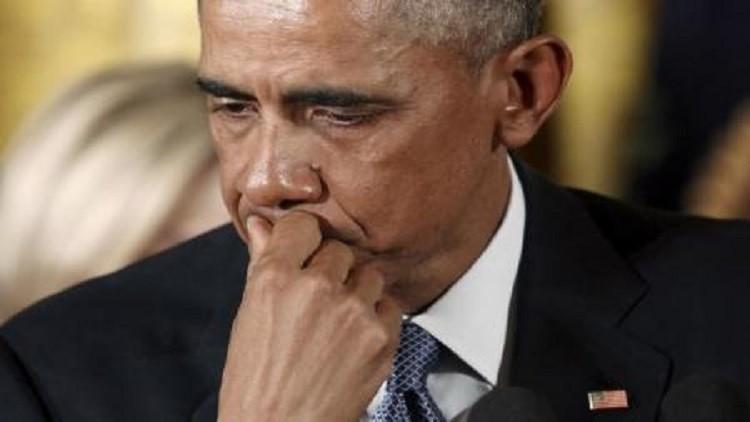أوباما: لن أدعم حملة مرشح ديمقراطي لايؤيد إصلاح قوانين حيازة الأسلحة