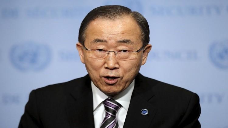 بان كي مون يدين طرد ممثل حقوق الإنسان من اليمن