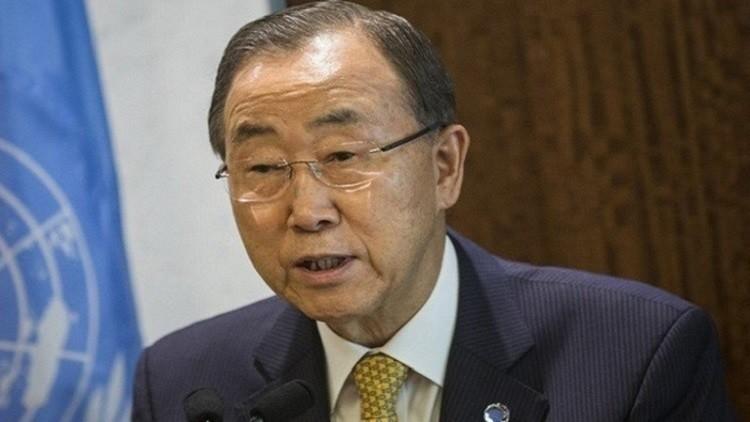 بان كي مون: استخدام القنابل العنقودية في اليمن قد يعتبر