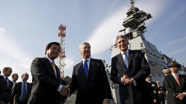 بريطانيا واليابان تتفقان على إجراء مناورات مشتركة