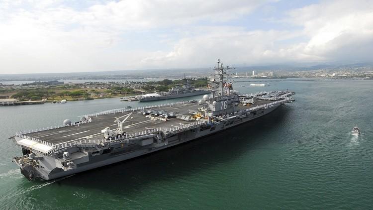 واشنطن تخطط لنشر حاملة طائرات قبالة شبه الجزيرة الكورية