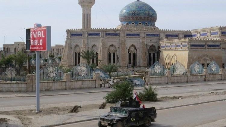المتفجرات المتناثرة في شوارع الرمادي تعرقل تأمين المدينة