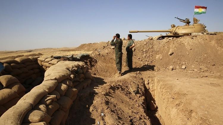 البيشمركة: الخندق لصد مفخخات داعش
