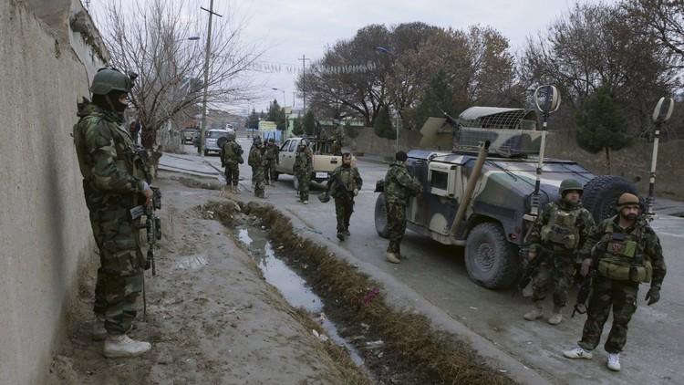 القوات الأفغانية تنتزع السيطرة على منطقة من طالبان