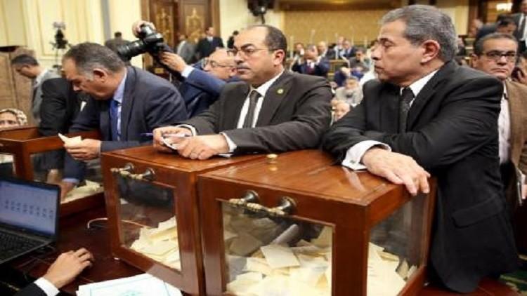 انتهاء أولى جلسات برلمان مصر الجديد بانتخاب عبد العال رئيسا لمجلس النواب