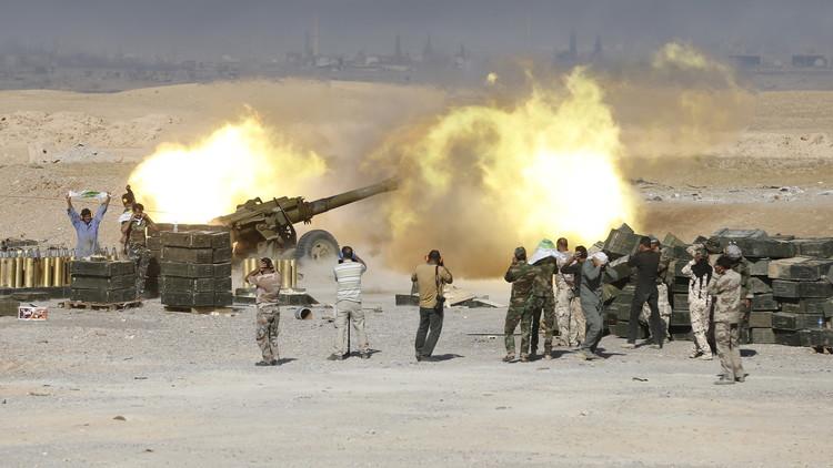 الجيش العراقي يحرر منطقة الشاعي شمالي حديثة