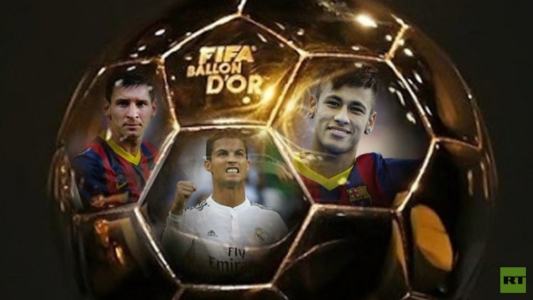 موقع RT يكشف عن هوية الفائز بجائزة الكرة الذهبية
