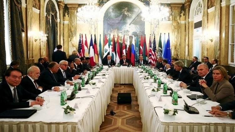 اجتماع جنيف  بين وفدي الحكومة والمعارضة السورية - أرشيف