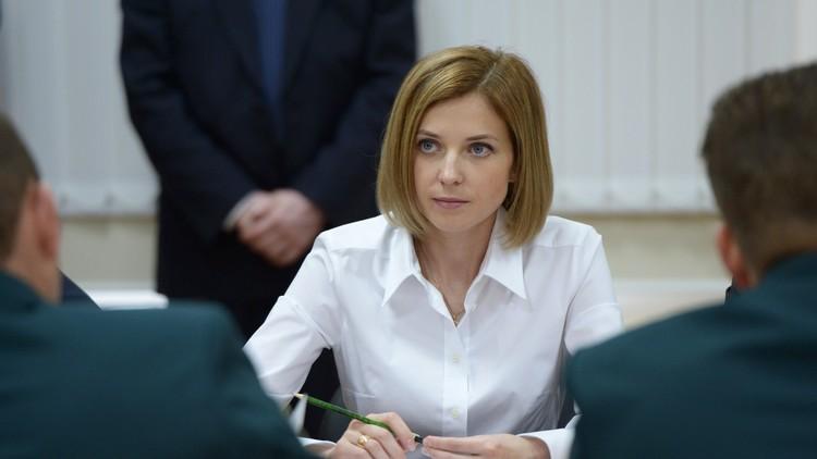 المدعية الحسناء بوكلونسكايا تتحدث عن إمكانية القدوم لموسكو