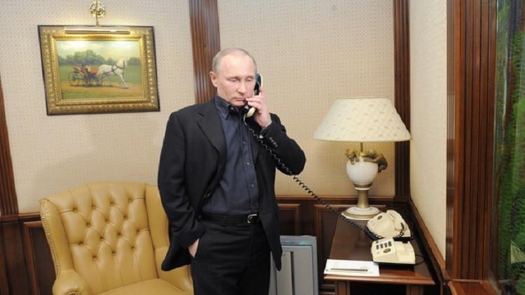 الكرملين: بوتين وأوباما ناقشا خلال اتصال هاتفي الأزمتين السورية والأوكرانية