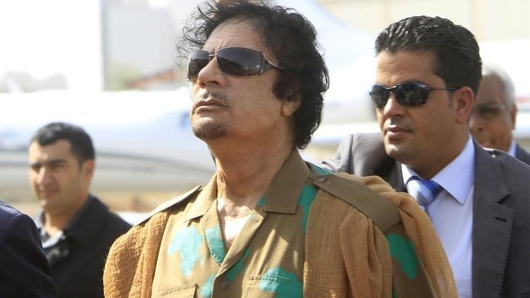 القذافي: أنفاسكم تلاحقني كالكلاب المسعورة!