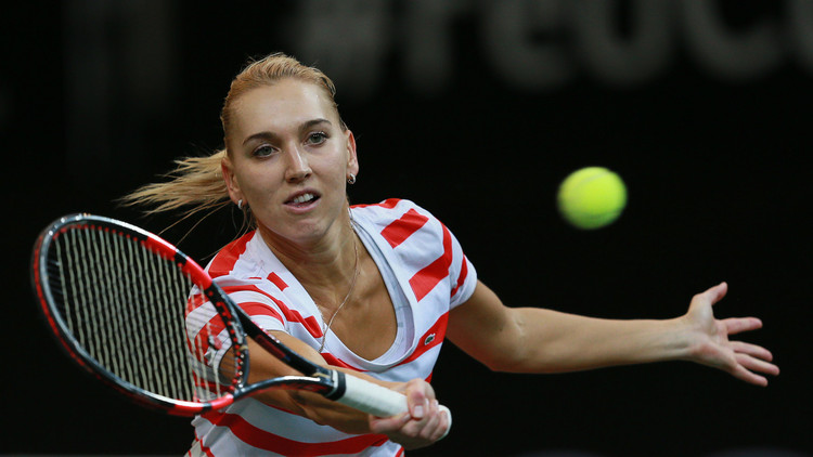 الروسية فيسنينا تسقط أمام لاعبة مغمورة في تصفيات بطولة أستراليا المفتوحة