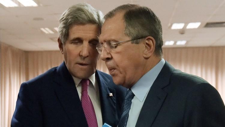 لافروف وكيري سيبحثان الملفين السوري والأوكراني في زيوريخ 20 يناير