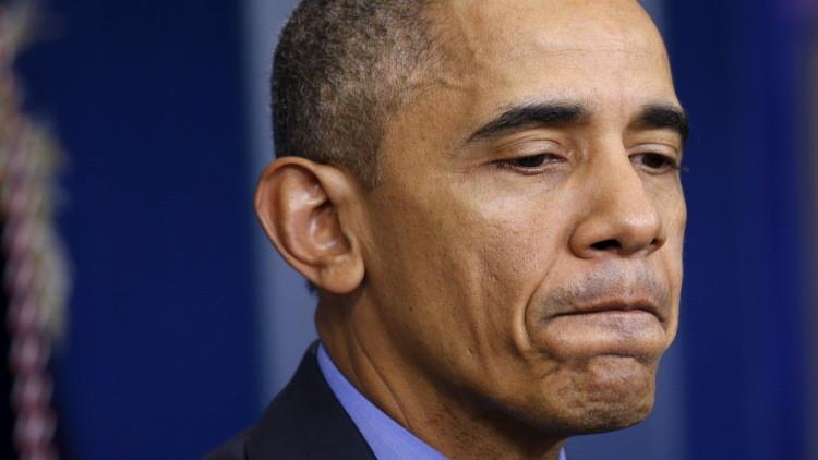 أوباما يخطئ في اسم مدينة أمريكية وينسى تاريخ استقلال الولايات المتحدة