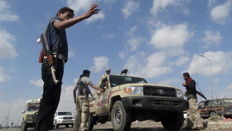 مقتل شرطيين بتفجير عبوة ناسفة جنوب عدن