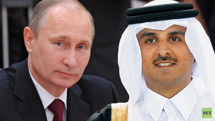 بوتين يبحث مع أمير قطر الاثنين المقبل التطورات في الشرق الأوسط والتعاون في مجال الطاقة