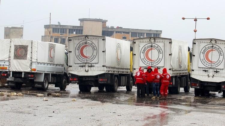سوريا.. مستشفى متنقلة في طريقها إلى مضايا ومطالبة بفك الحصار عنها