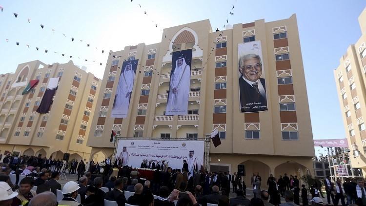 1000 فلسطيني يتسلمون شققا مولتها قطر في غزة