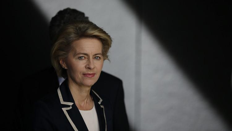 وزيرة الدفاع الألمانية: