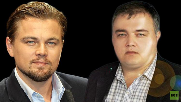 صحيفة ترفع النقاب عن هوية توأم دي كابريو الروسي