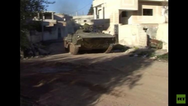 الجيش السوري يستعيد منطقة جنوب درعا