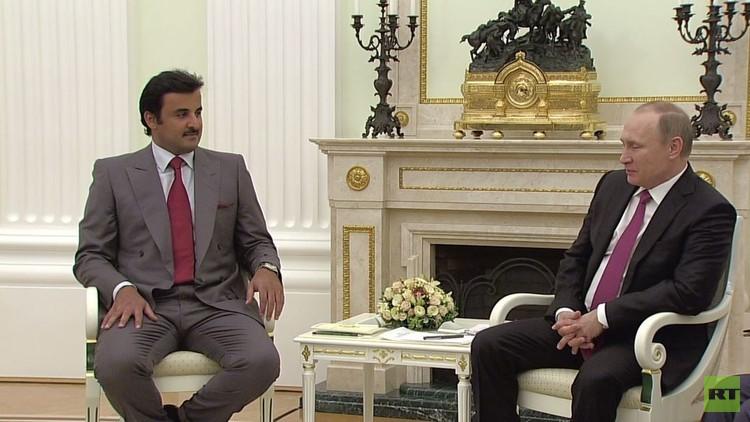 لافروف: روسيا وقطر تعولان على بدء المفاوضات بين الحكومة السورية والمعارضة هذا الشهر