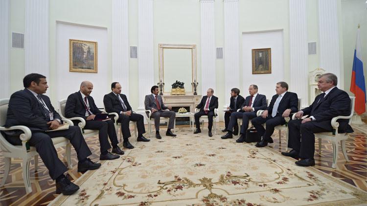 بوتين: يجب تنسيق المواقف مع قطر في قطاع الطاقة