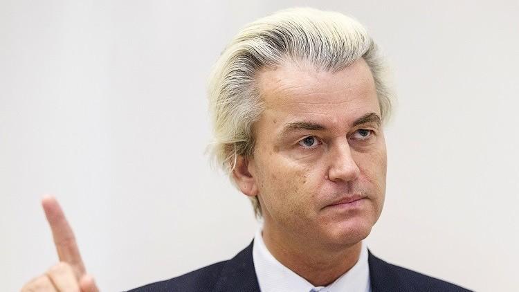 الهولندي فيلدرز يطالب بحجز اللاجئين
