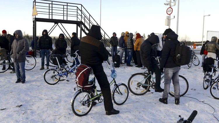 مخاطر جدية تحدق باللاجئين في طريقهم إلى فنلندا