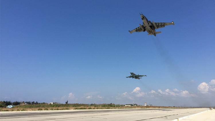 الدفاع الروسية: طائراتنا في سوريا نفذت 157 طلعة خلال 4 أيام ودمرت قرابة 600 موقع للإرهابيين