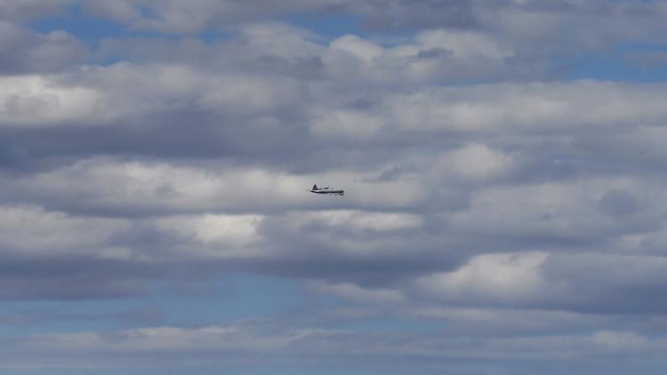 طائرة مجهولة تحلق قرب الحدود الروسية