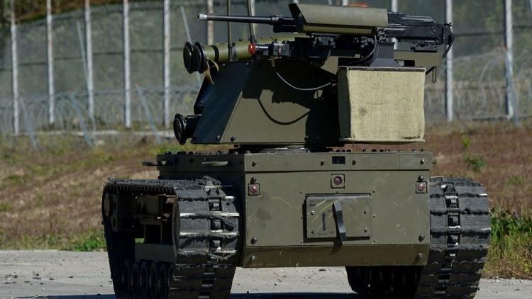 روبوتات تحارب الإرهاب في سوريا يتحكم بها من موسكو