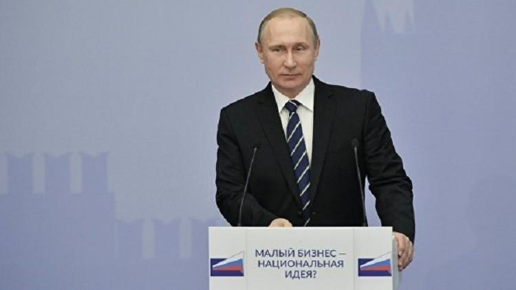 بوتين: قطاع الأعمال في روسيا صمد بالرغم من الصعوبات