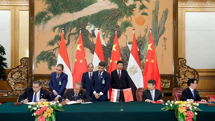 استثمارات صينية بـ 15 مليار دولار في مصر