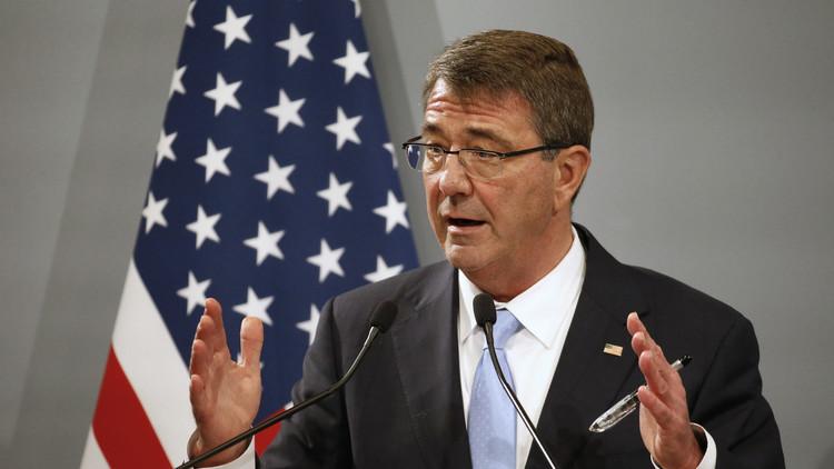 كارتر: نشر قوات برية جزء من استراتيجية محاربة