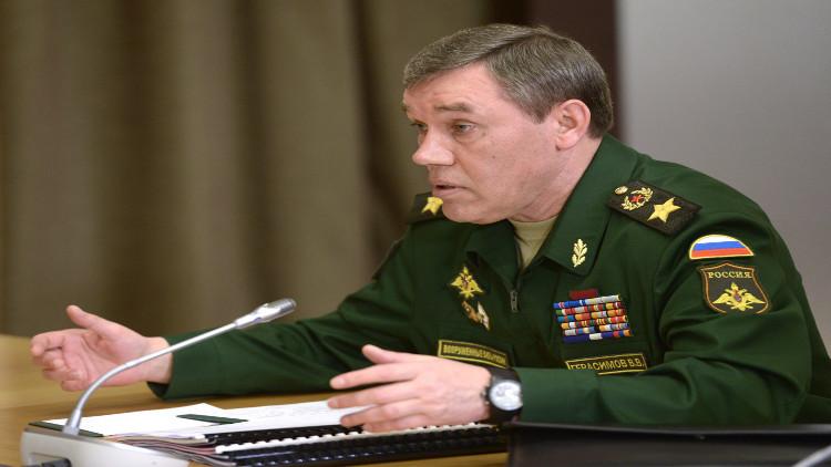 الأركان الروسية: الجيش السوري انتزع زمام المبادرة الاستراتيجية من الإرهابيين