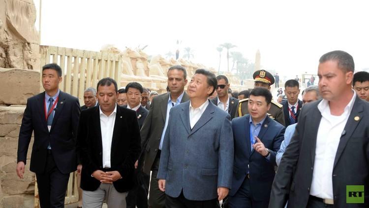 الرئيس الصيني في مصر بعيدا عن السياسة (فيديو)