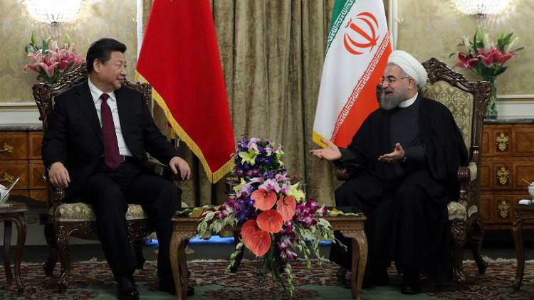 إيران والصين تتفقان على زيادة التبادل التجاري إلى $60 مليار سنويا