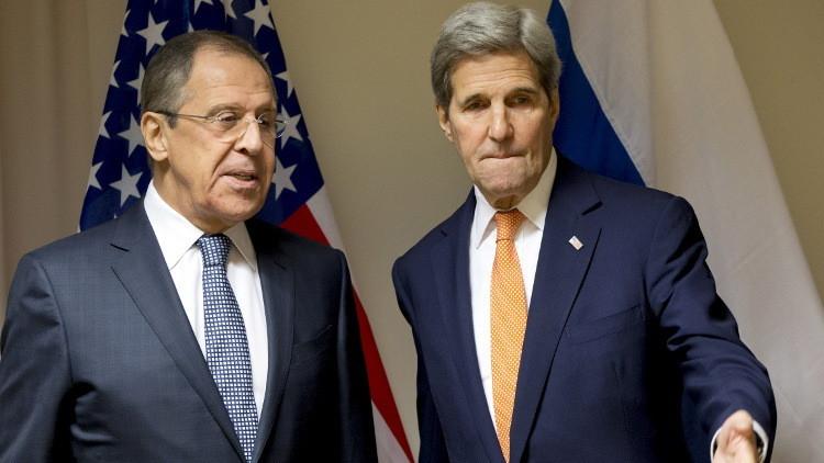 لافروف وكيري يبحثان تشكيل وفد واسع التمثيل للمعارضة السورية في مفاوضات جنيف