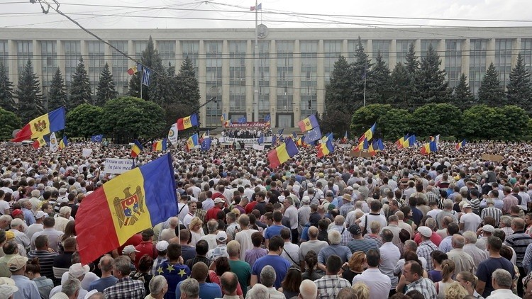 تعبئة شاملة للشرطة في مولدوفا استعدادا لاحتجاجات ضخمة