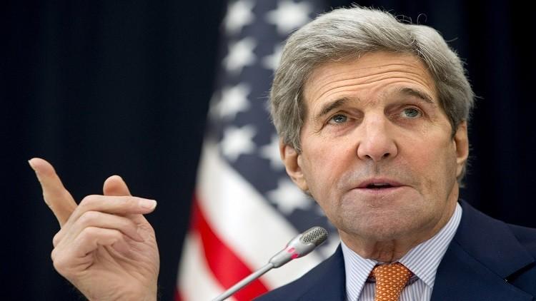 كيري يهدد المعارضة السورية بخسارة الحلفاء إن لم تذهب إلى جنيف