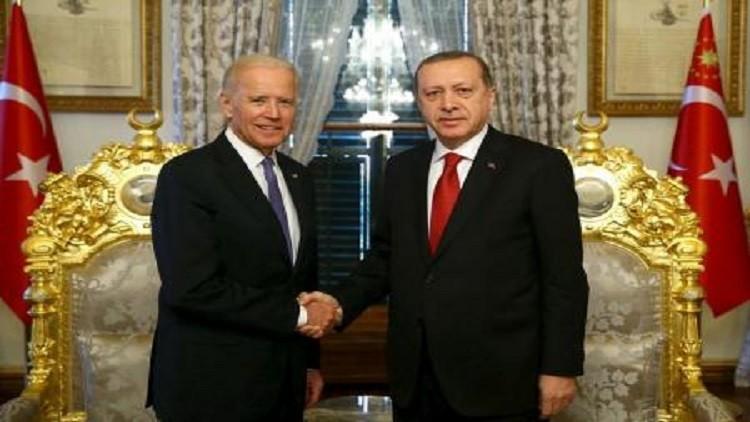 إسطنبول.. بايدن وأردوغان يتكاتفان ضد